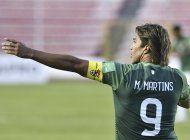 conmebol suspende por 1 partido y multa a boliviano martins