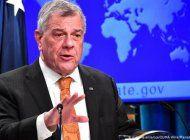 subsecretario de estado para asuntos del hemisferio occidental: los cubanos merecen el derecho a la libertad de expresion y un gobierno que cumpla sus promesas