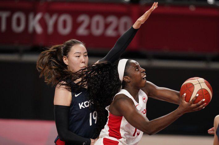 Canadá vence 74-63 a Corea del Sur de la mano de Carleton
