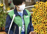 gobernadora de tokio pide a jovenes vacunarse contra covid
