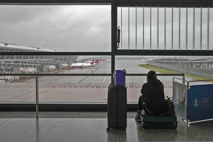 Shanghái cancela vuelos ante la llegada del tifón In-fa