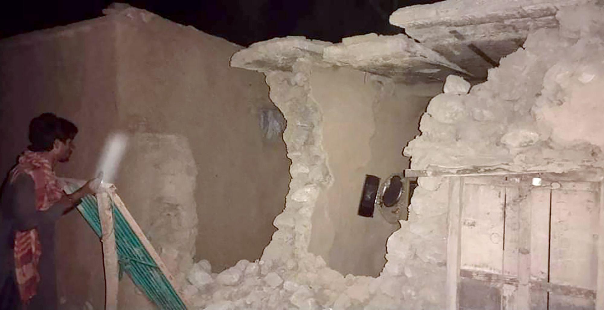 sismo deja al menos 11 muertos en suroeste de pakistan