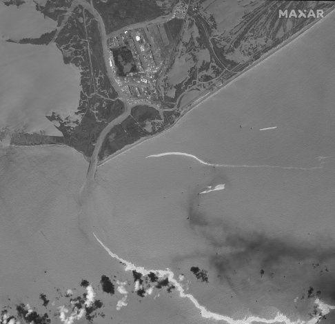 EEUU: Buzos identifican tubería rota como fuente de derrame