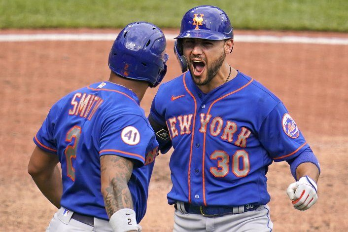 HR de Conforto en la 9na le da triunfo a Mets sobre Piratas