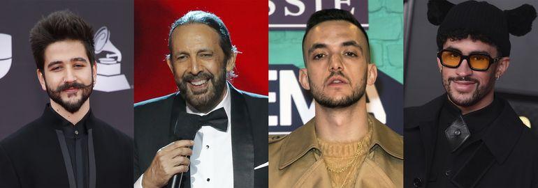 Camilo lidera con 10 la lista de nominados al Latin Grammy
