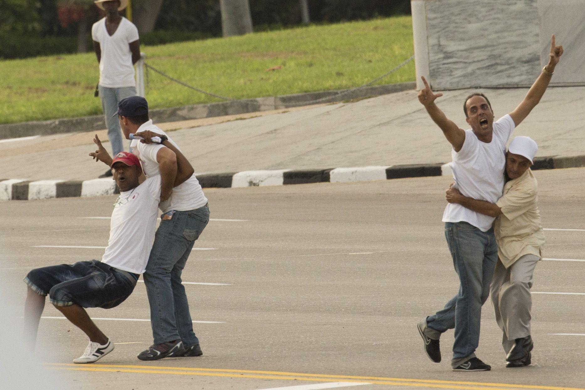 Cuba detuvo al menos 250 opositores durante la visita del papa Francisco