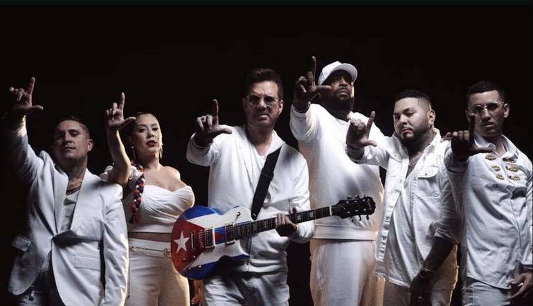 Willy Chirino se reúne con reguetoneros cubanos para relanzar uno de sus temas más conocidos