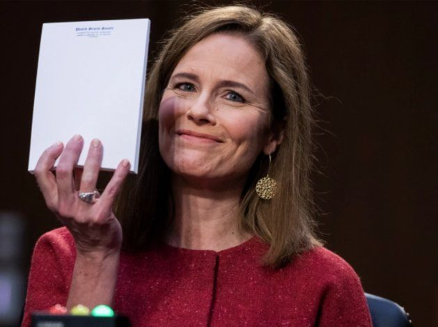El Senado de EEUU votará el lunes la confirmación de la candidatura de la jueza Barrett al Supremo