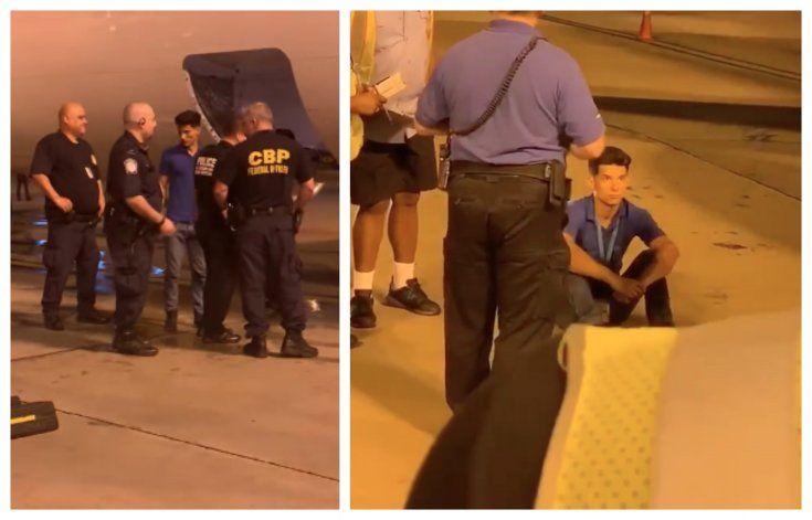 Cubano llega escondido en el compartimiento de carga de un avión procedente del Aeropuerto José Martí de La Habana