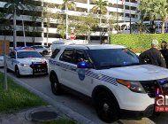 tiroteo deja a dos personas heridas a las afueras de un hotel en el downtown de miami