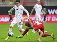hoffenheim rescata empate 1-1 en visita a union berlin