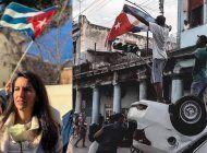rocio monasterio: no vale con que les dejen manifestarse en cuba. tiene que caer el regimen de asesinos y dictadores