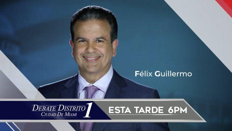 América Tevé tendrá esta tarde el debate con los candidatos del distrito 1 de la ciudad de Miami
