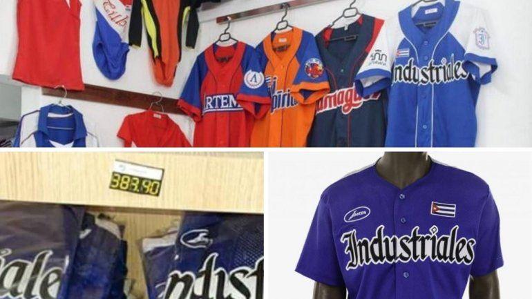 Fanáticos de la pelota en Cuba tendrán que pagar casi 400 dólares por la camiseta de su equipo favorito