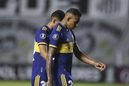 libertadores: santos vence a boca; the strongest a barcelona