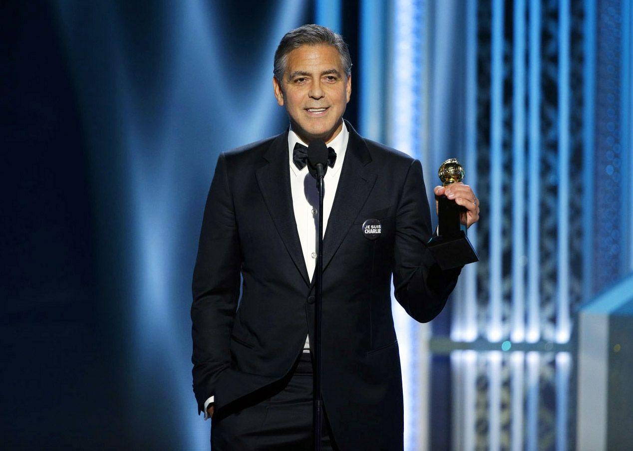 Clooney recibe Premio Cecil B. DeMille en los Globos de Oro