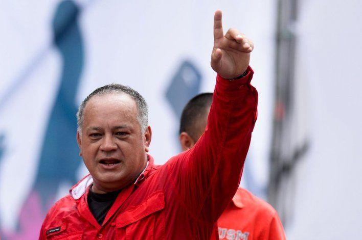 Diosdado Cabello negó las protestas en Cuba: Cinco tuits no van a terminar con la revolución