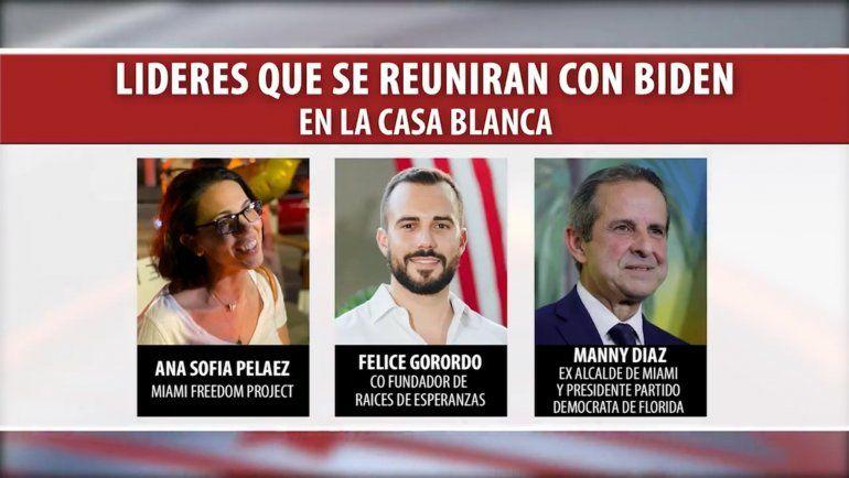Biden se reunirá mañana con activistas cubano-americanos  incluido Yotuel Romero en la Casa Blanca
