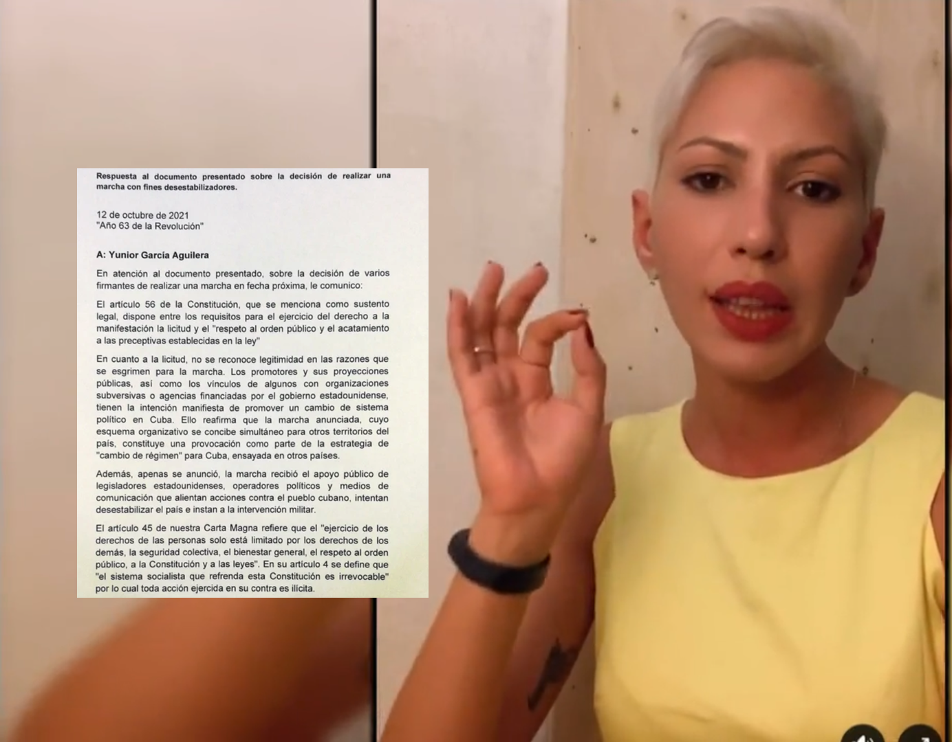 Promotores de la marcha del 15 de noviembre toman decisión de salir a marchar a pesar de negativa del régimen cubano