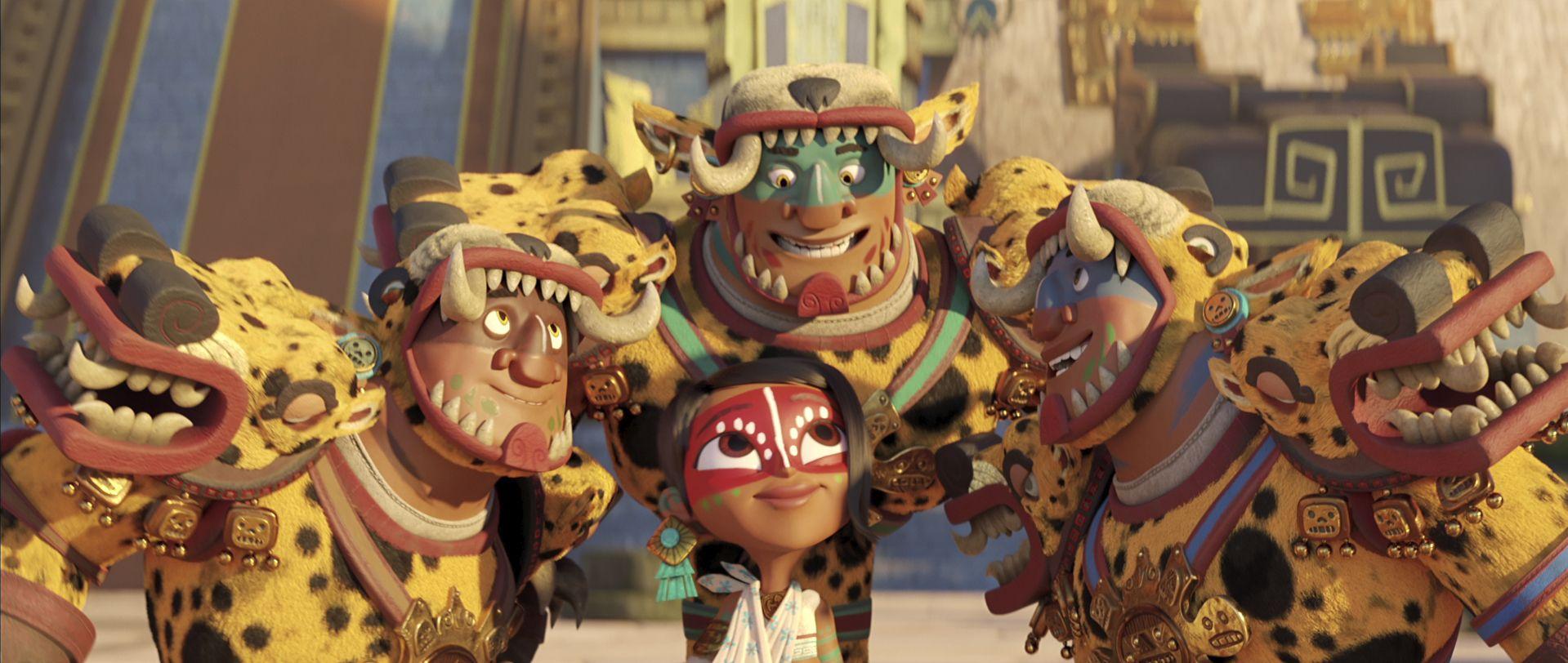 ?maya and the three? reune a saldana y gutierrez