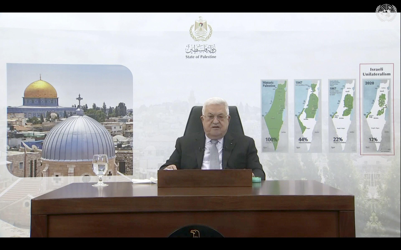 mahmud abas recibe al ministro de salud israeli