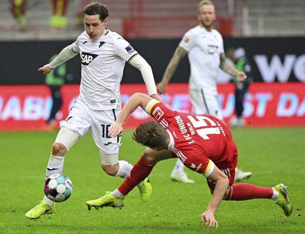 Hoffenheim rescata empate 1-1 en visita a Union Berlín
