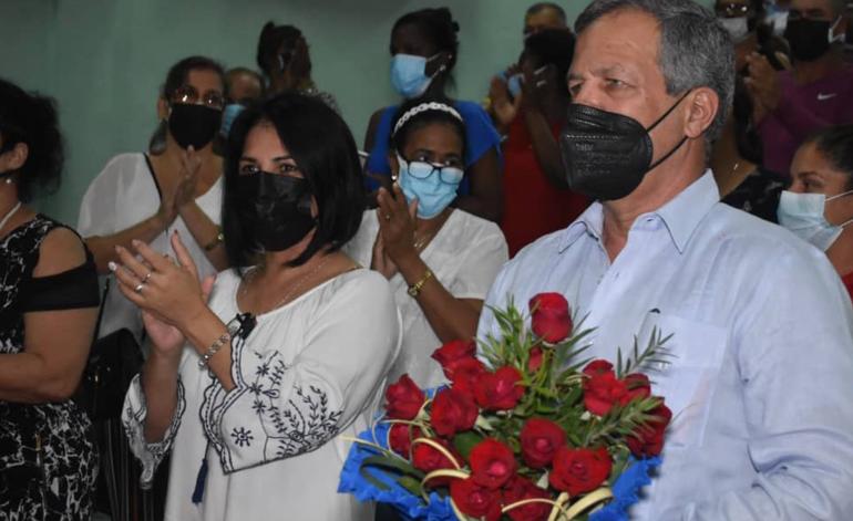 El general de División Luis Alberto Rodríguez López-Calleja designado en Villa Clara como diputado al Parlamento cubano