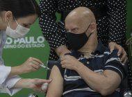 sao paulo pide a china envie material para vacunas