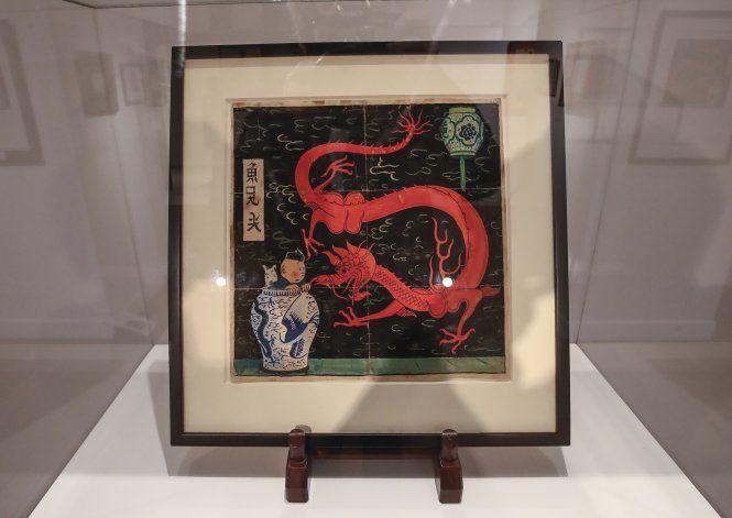 Dibujo de Tintín se vende en subasta por récord de $3,1MM
