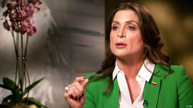 Vanessa Neumann, representante de Guaidó en Reino Unido, renunció al cargo