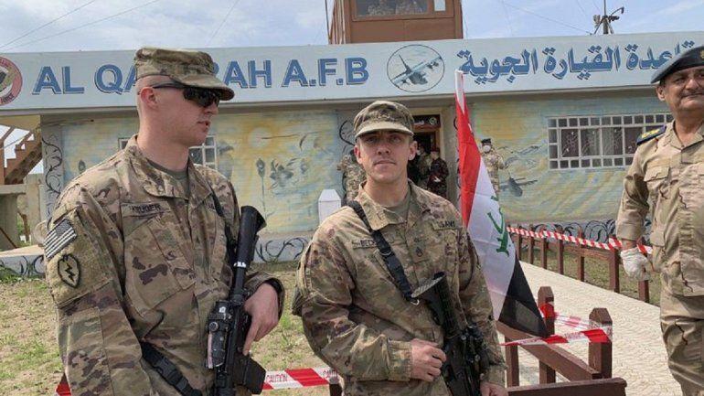 Disparan tres cohetes contra una base que acoge estadounidenses en Irak