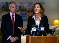 Los congresistas de Miami, María Elvira Salazar y Mario Díaz-Balart. (Miami Herald)