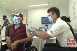 desamparados reciben segunda dosis de la vacuna en miami