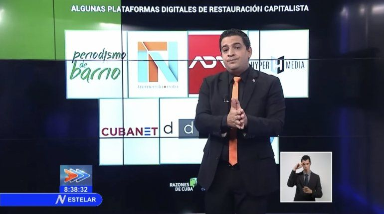 El régimen defiende a su vocero Humberto López tras golpear a una opositora cubana