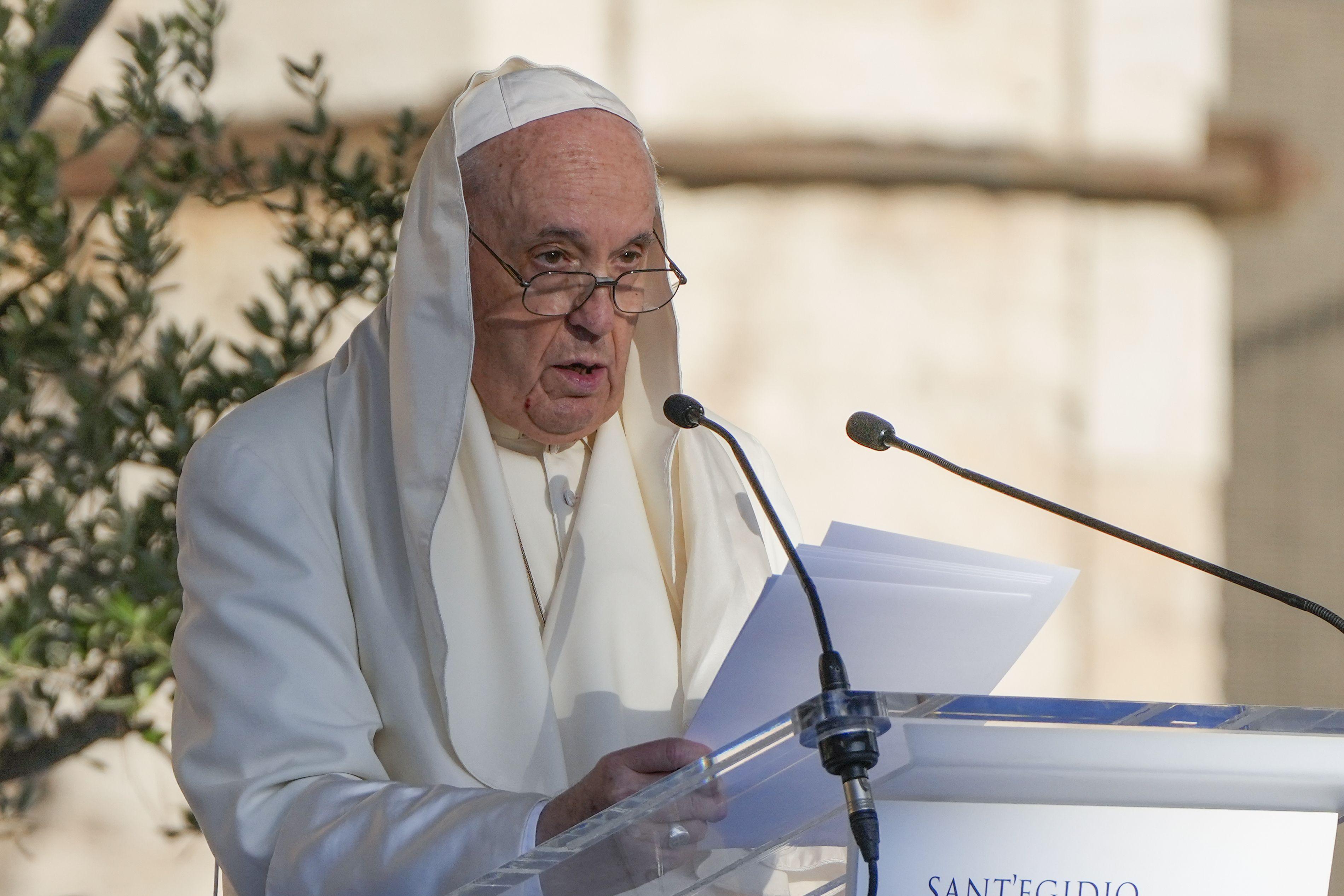 el papa no ira a conferencia climatica de la onu en glasgow