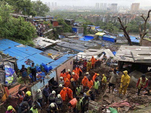 India: 20 muertos en deslaves provocados por el monzón