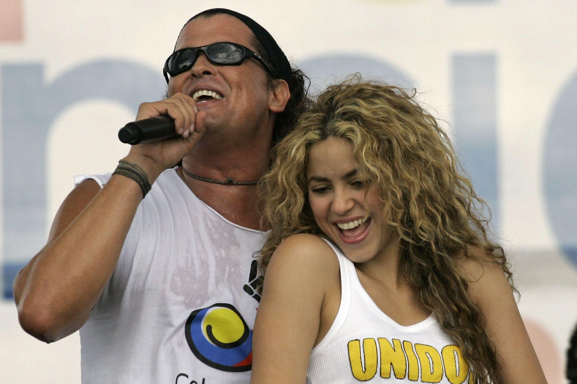Acusan a Shakira y Carlos Vives de plagio en La bicicleta