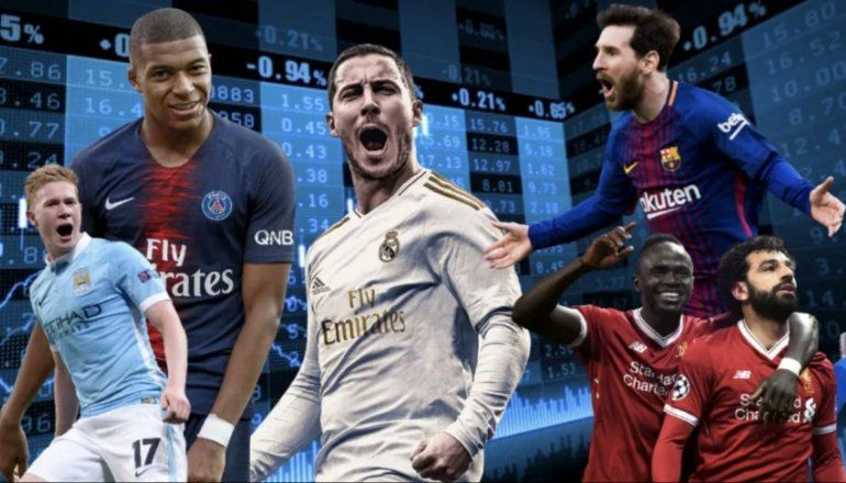 Éstos son los 10 futbolistas más caros del mundo