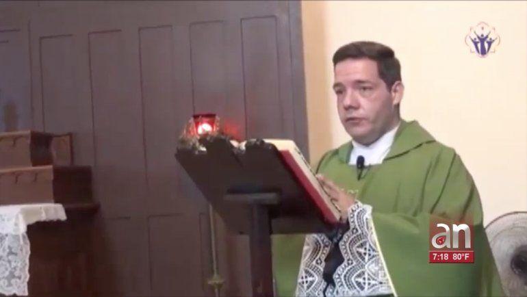 Sacerdote cubano llama tirano a gobernante en Cuba en una misa en La Habana