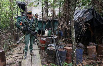 Venezuela/Colombia.- Venezuela destruye ocho laboratorios de droga en la frontera con Colombia