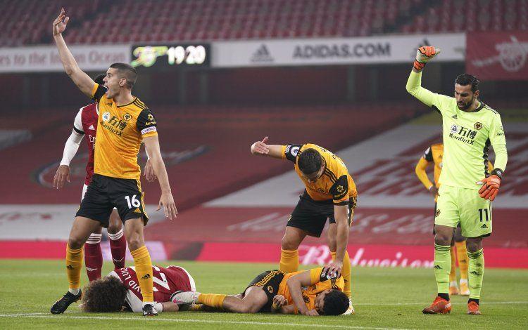 Arsenal: David Luiz, bien de salud; consternado por Jiménez