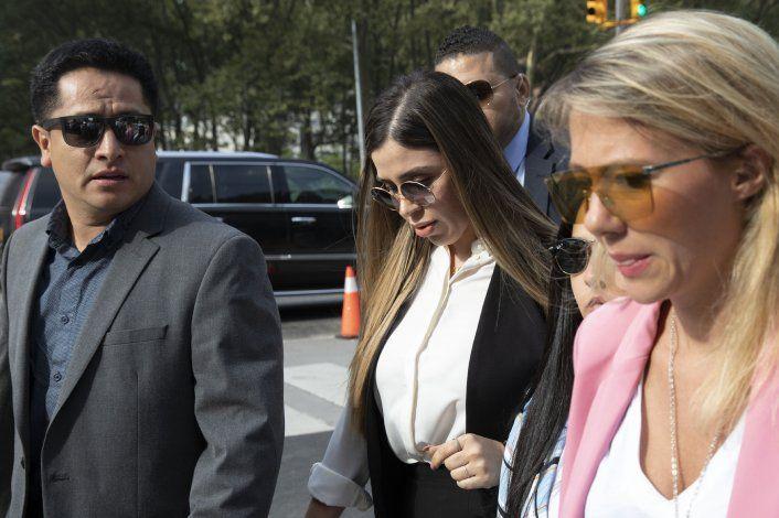 Esposa de Joaquín El Chapo Guzmán por comparecer en EEUU