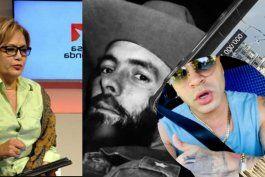 vocera del regimen cubano: se esta pidiendo carcel para yomil por la cancion de cuba soy