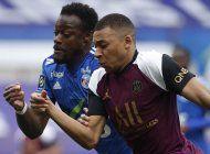 paris saint-germain golea 4-1 a estrasburgo en liga francesa