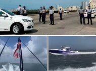 flotilla de exiliados cubanos ya se encuentra frente a cuba y la dictadura militariza el malecon