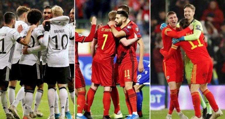 Terminaron las Eliminatorias rumbo a a la Euro 2020: cuáles son las selecciones clasificadas y cuáles irán al repechaje