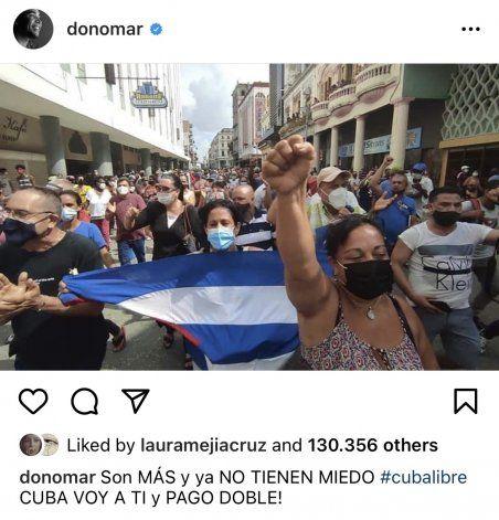 Artistas internacionales en apoyo a Cuba