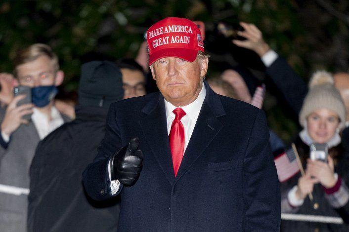 Donald Trump aseguró que la semana que viene comenzarán a llegar resultados de las elecciones e insistió: ¡Vamos a ganar!