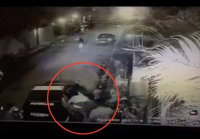 El video de Leopoldo López sacado de su casa por las fuerzas del régimen chavista