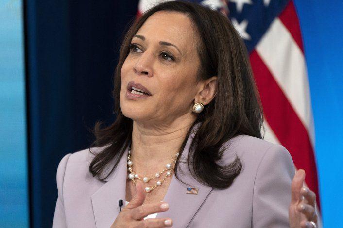 Vicepresidenta Harris irá a frontera con México el viernes